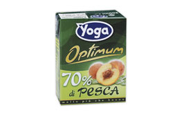 """<span class=""""light"""">Succo</span> di frutta YOGA, Pesca"""